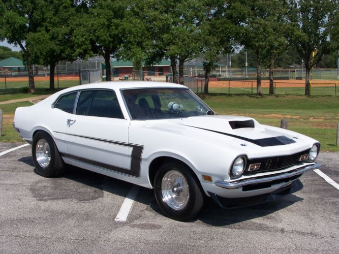 FORD MAVERICK muscle classic hot rod rods fq wallpaper