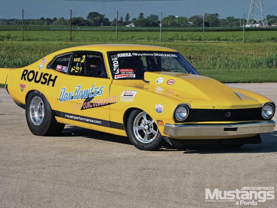 FORD MAVERICK muscle classic hot rod rods drag racing race       g wallpaper