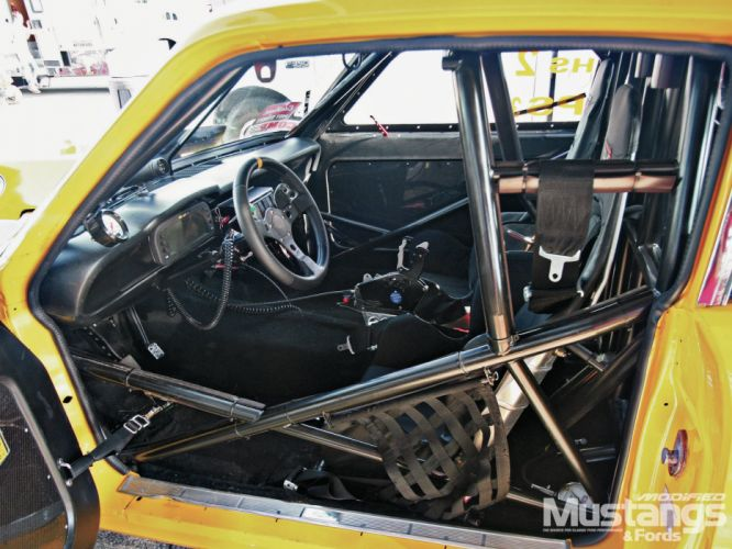 FORD MAVERICK muscle classic hot rod rods drag racing race interior g wallpaper