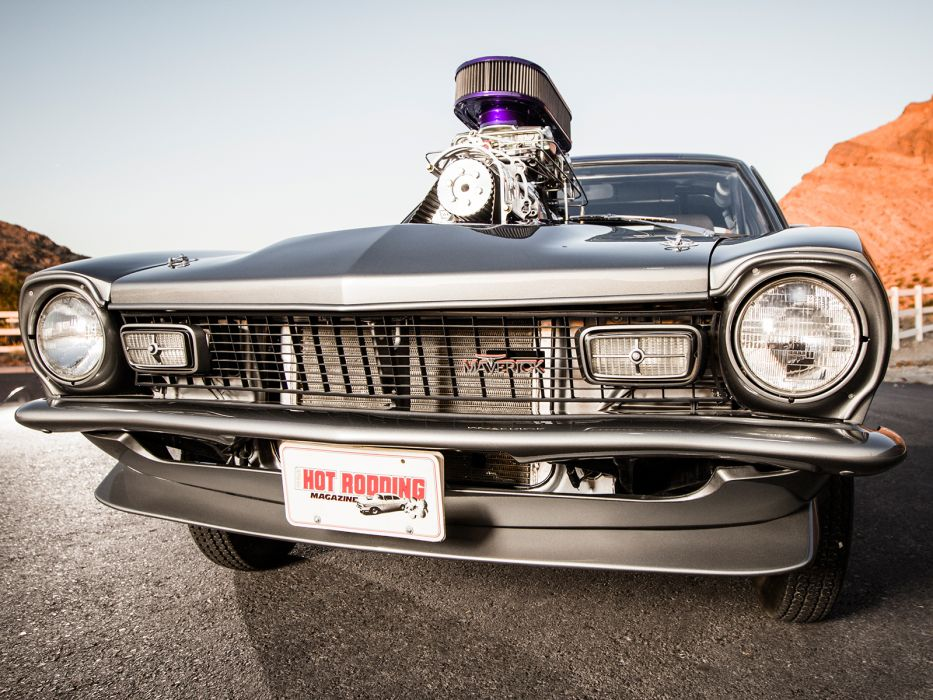 FORD MAVERICK muscle classic hot rod rods engine     gw wallpaper