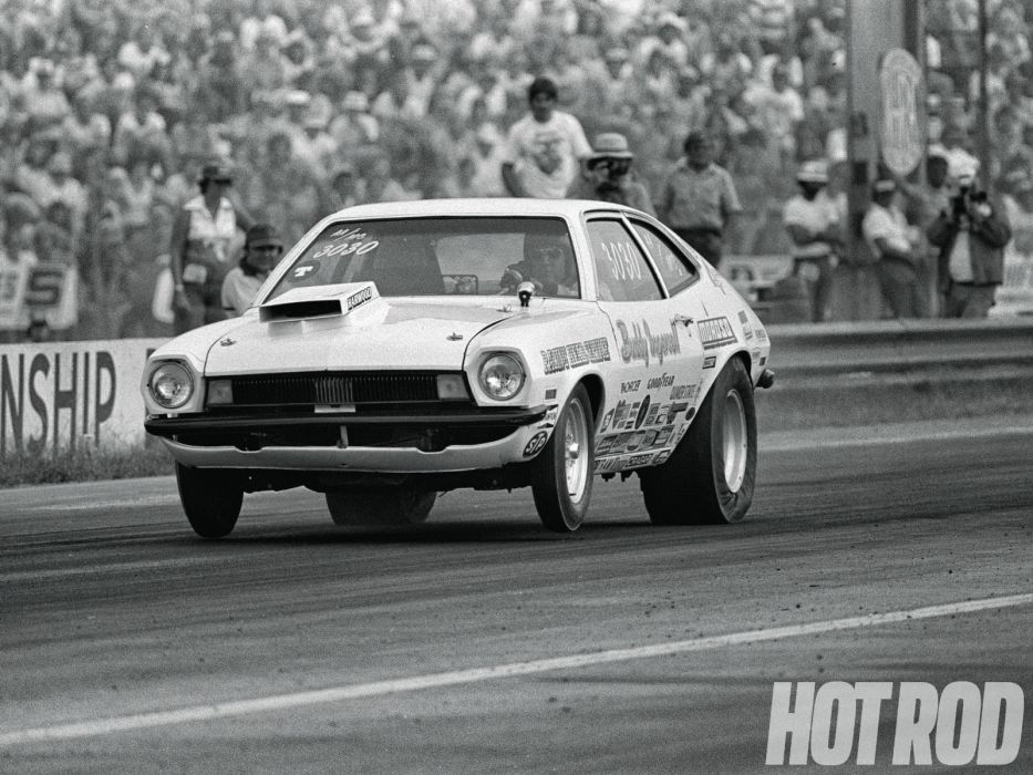 FORD PINTO classic hot rod rods drag racing race        f wallpaper