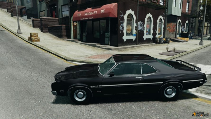 MERCURY CYCLONE muscle classic gta grand theft auto games f wallpaper