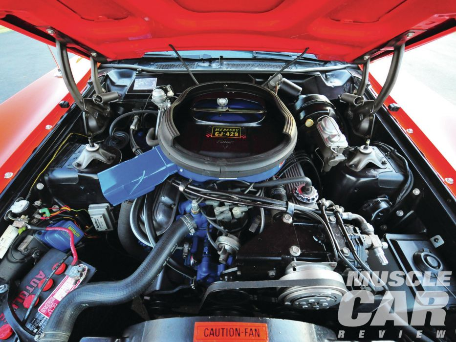 MERCURY CYCLONE muscle classic hot rod rods engine    f wallpaper