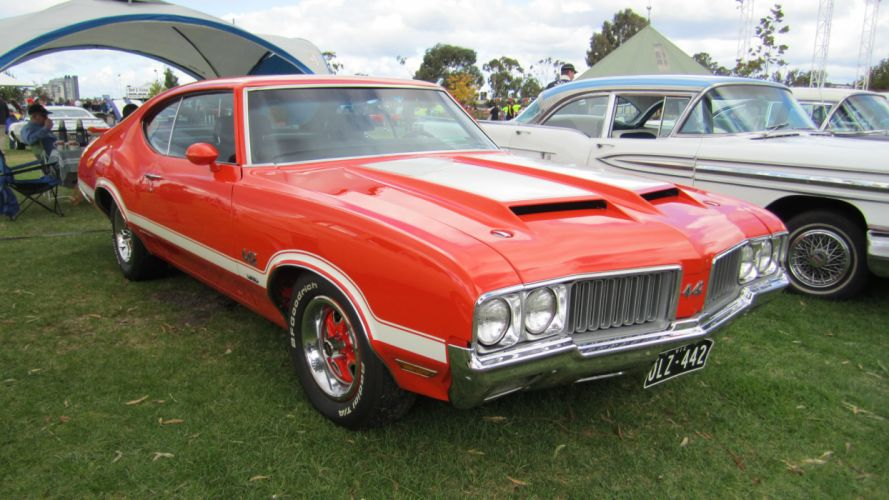OLDSMOBILE 442 muscle classic d wallpaper
