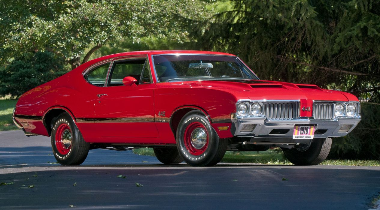 OLDSMOBILE 442 muscle classic y wallpaper