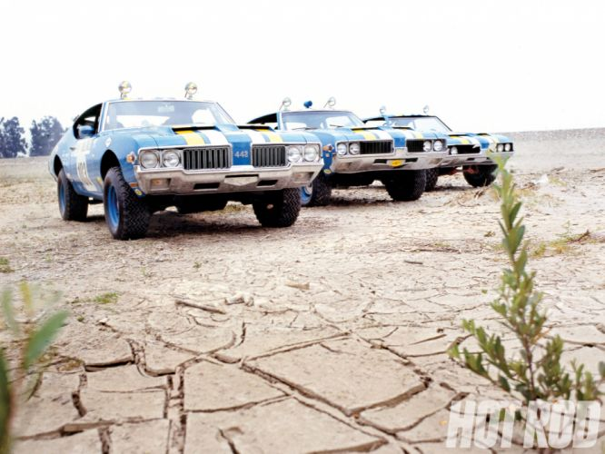 OLDSMOBILE 442 muscle classic hot rod rods race racing offroad f wallpaper