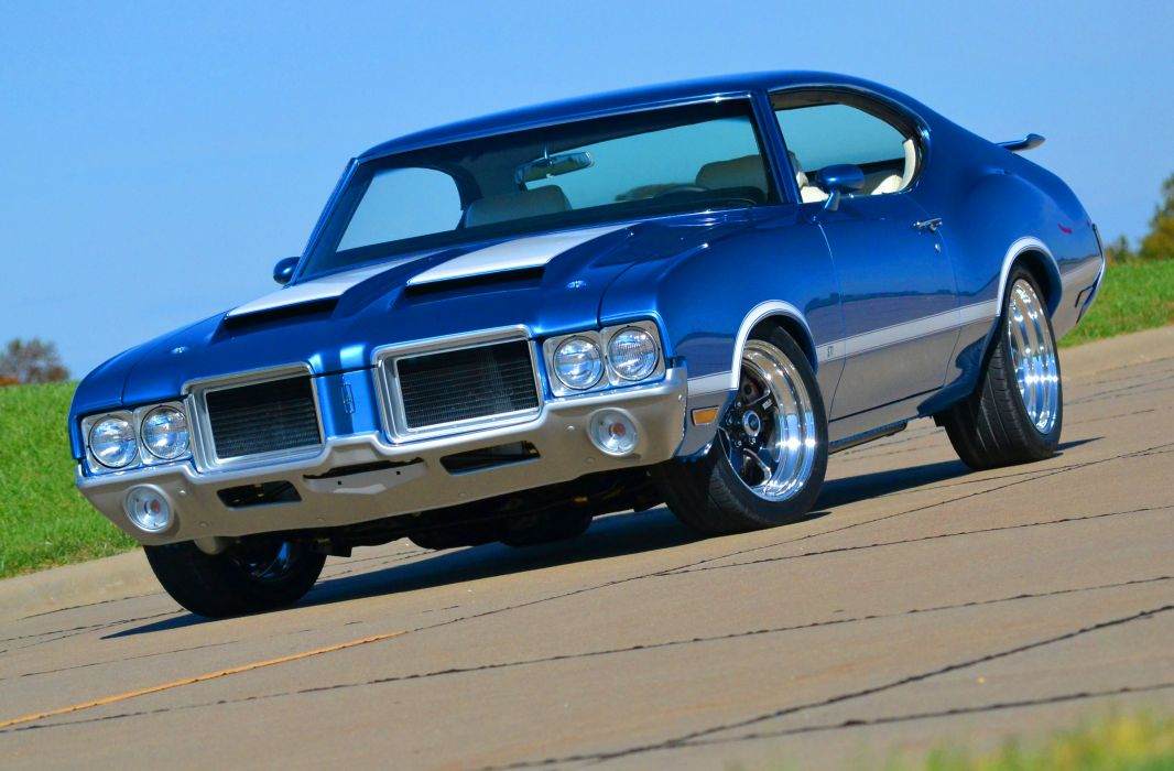 OLDSMOBILE CUTLASS muscle classic    f wallpaper