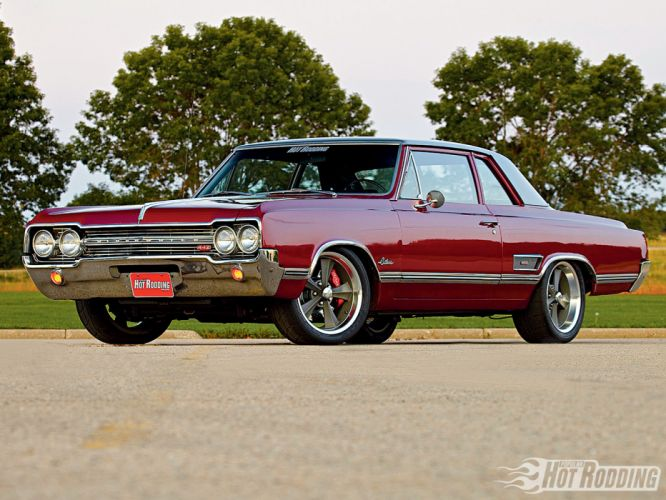 OLDSMOBILE CUTLASS muscle classic hot rod rods r wallpaper
