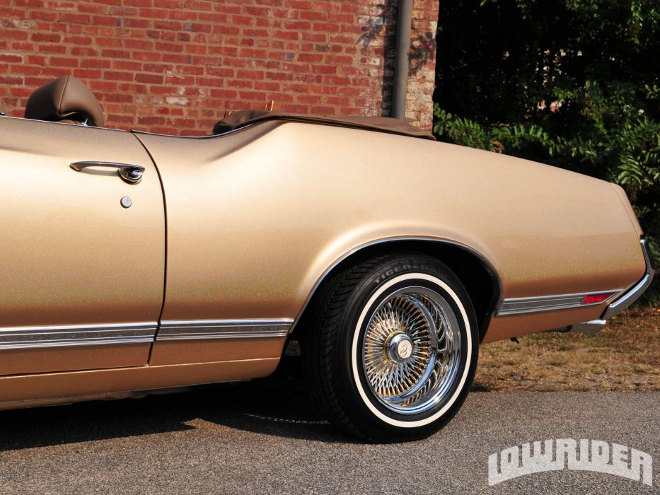 OLDSMOBILE CUTLASS muscle classic lowrider       g wallpaper
