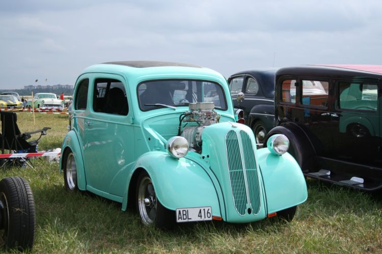 FORD ANGLIA retro hot rod rods np wallpaper