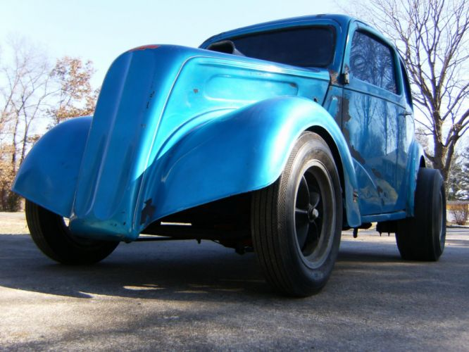 FORD ANGLIA retro hot rod rods drag racing race gasser g wallpaper