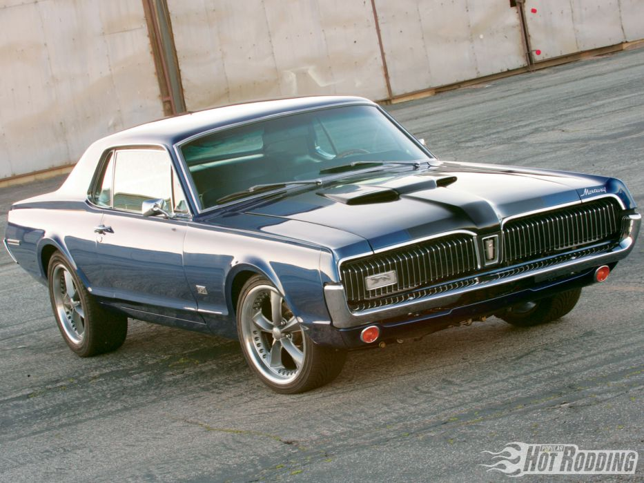 MERCURY COUGAR muscle classic hot rod rods         g wallpaper