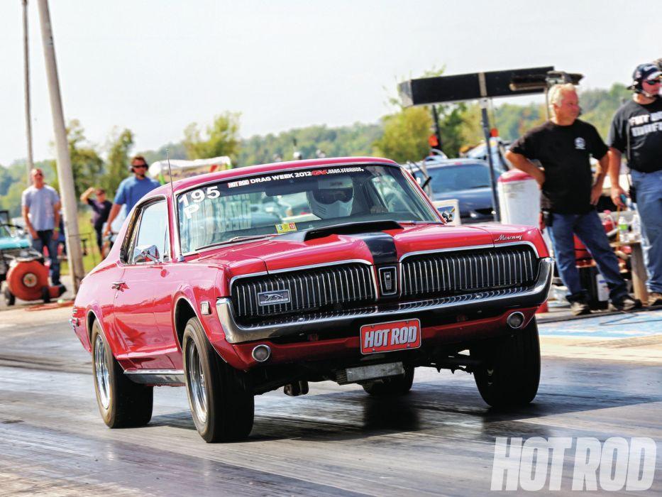 MERCURY COUGAR muscle classic hot rod rods drag racing race       g wallpaper