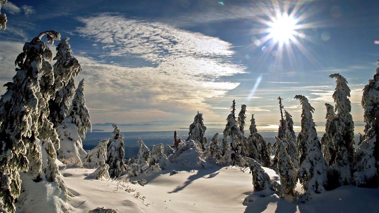 landscapes winter wallpaper