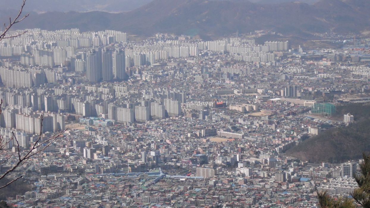 cityscapes skylines buildings skyscrapers Asia Asian architecture Seoul city skyline South Korea citylife wallpaper