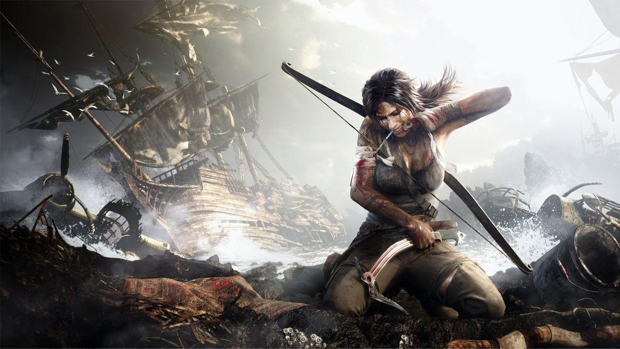 Tomb Raider Lara Croft games wallpaper