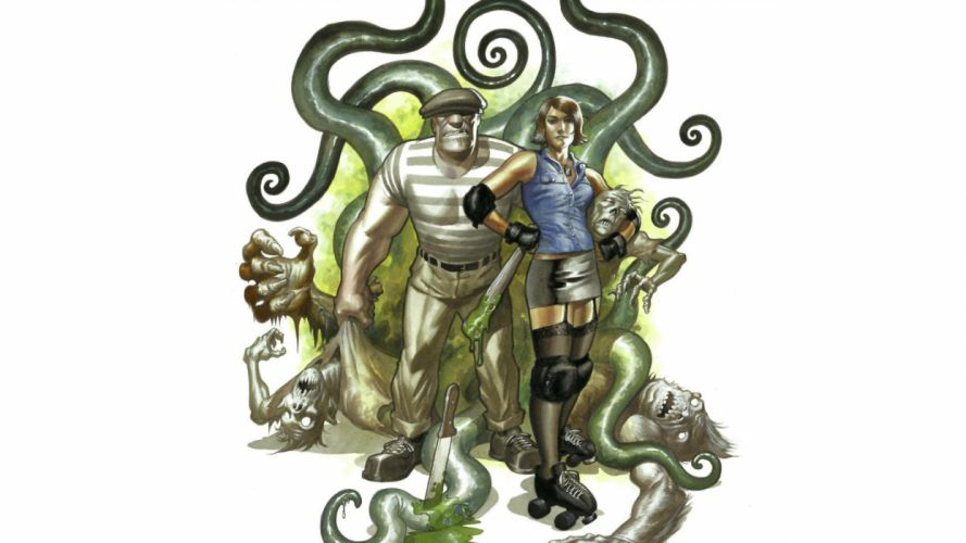 comics Goon (Comics) the goon wallpaper