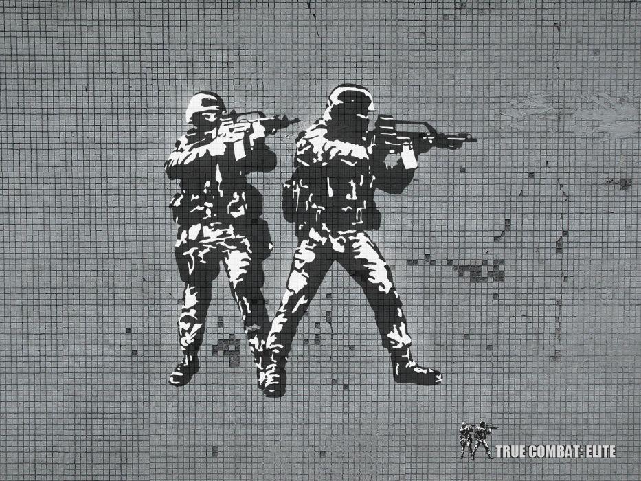 video games weapons spetsnaz True Combat Elite wallpaper