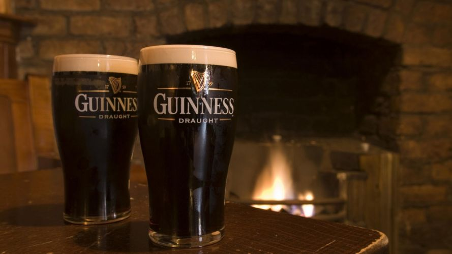 beers Guinness alcohol Ireland wallpaper