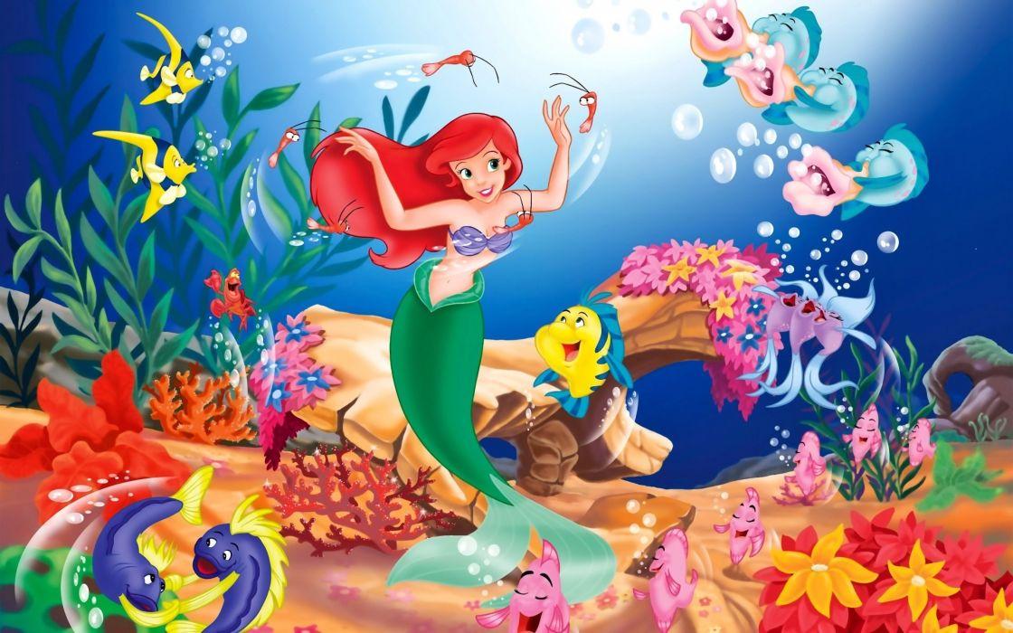 Disney Company The Little Mermaid wallpaper