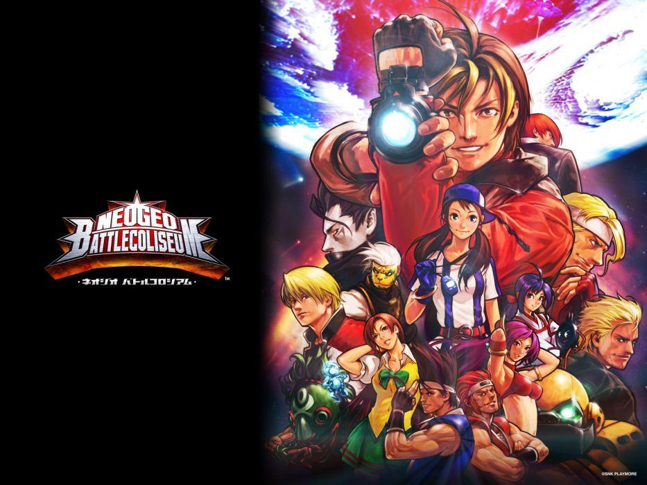Neo Geo Snk Playmore Neogeo Battle Coliseum Wallpaper 1600x1200