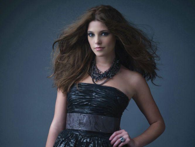 brunettes models Ashley Greene wallpaper