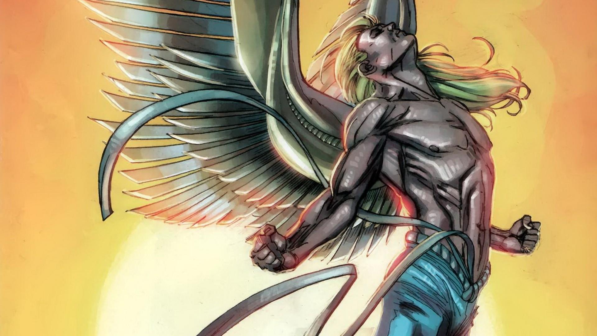 comics xmen marvel comics archangel angel comics