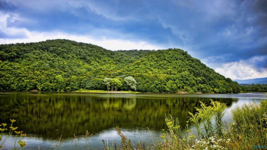 Hungary lakes wallpaper