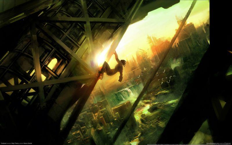 video games Enslaved wallpaper