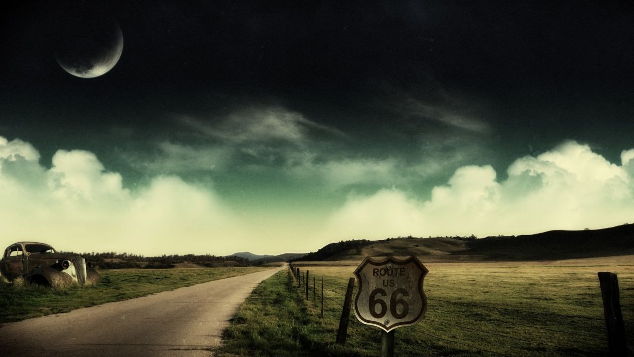 roads road 66 wallpaper
