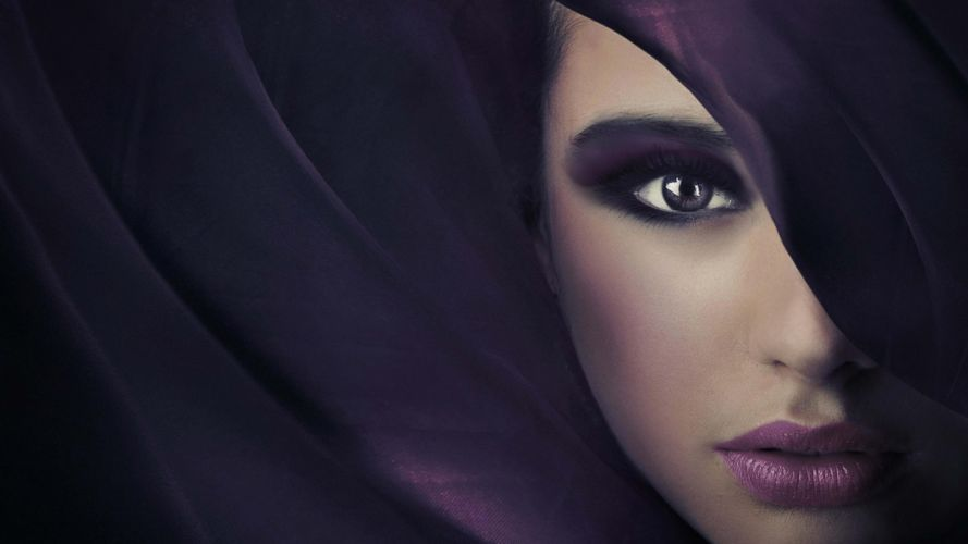 eyes purple fashion model lip wallpaper