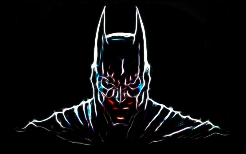 Batman Fractalius superheroes wallpaper
