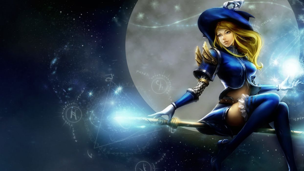 League of Legends Lux wallpaper