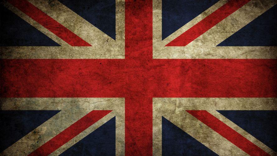 flags United Kingdom artwork British Flag of England wallpaper