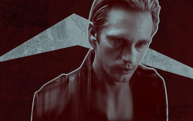 True Blood Alexander Skarsgard wallpaper