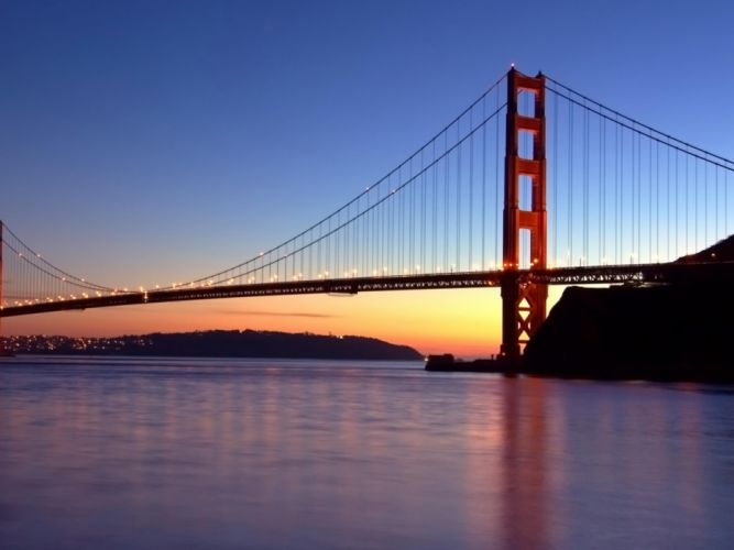 nature Golden Gate Bridge San Francisco wallpaper