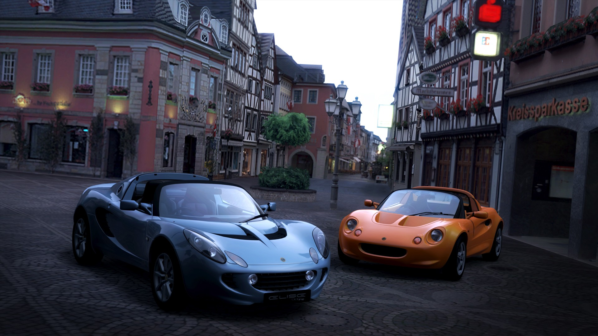 video games cars lotus elise gran turismo 5 playstation 3 lotus elise 111s wallpaper 1920x1080. Black Bedroom Furniture Sets. Home Design Ideas