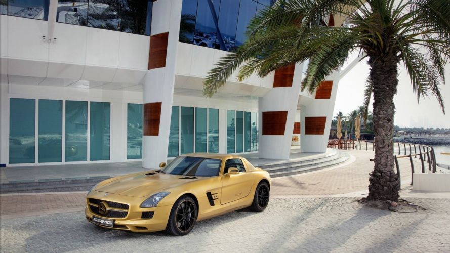 cars Dubai vehicles Mercedes-Benz Mercedes Benz Sls Amg wallpaper