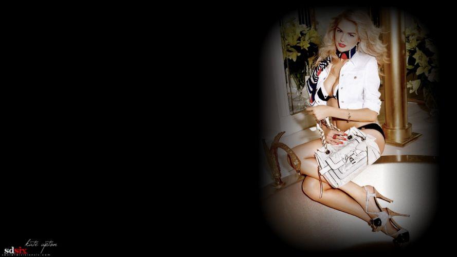 women models Kate Upton Vignette wallpaper