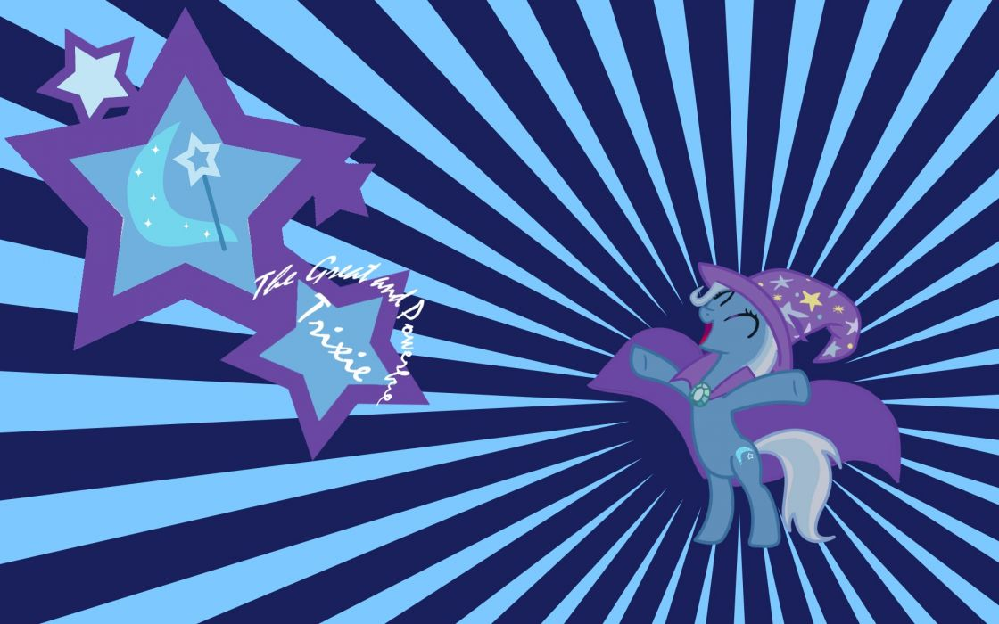 My Little Pony The Great and Powerful Trixie wallpaper