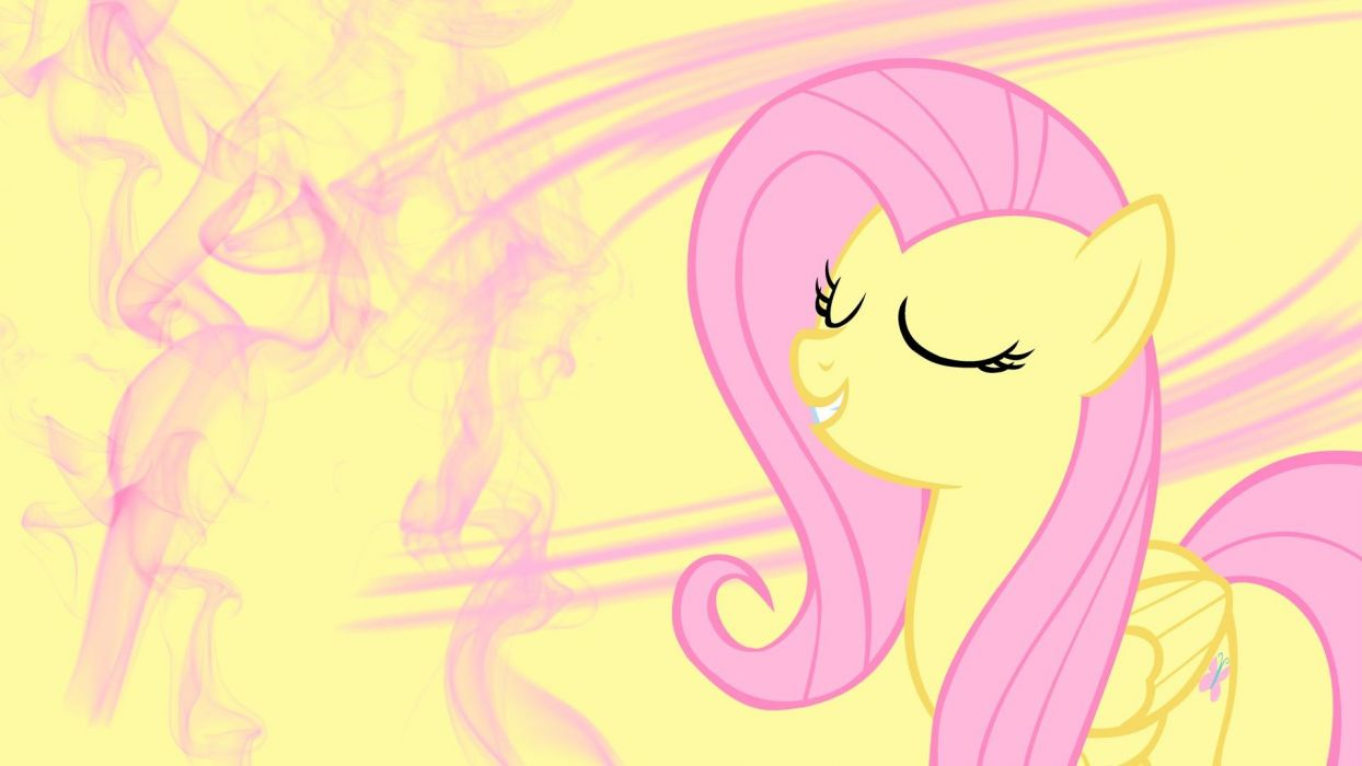 smoke My Little Pony Fluttershy wallpaper