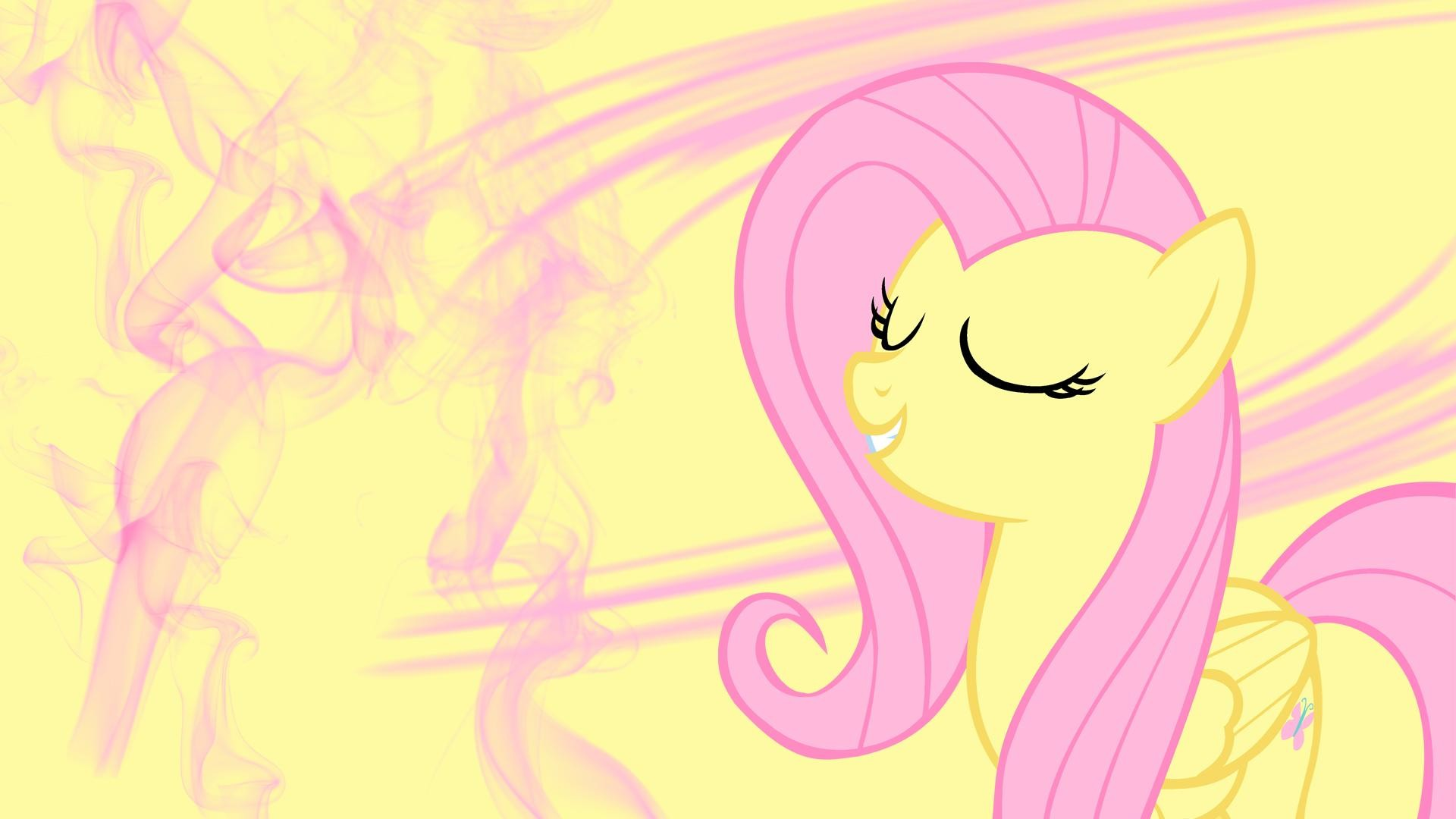 Smoke My Little Pony Fluttershy wallpaper | 1920x1080 ...