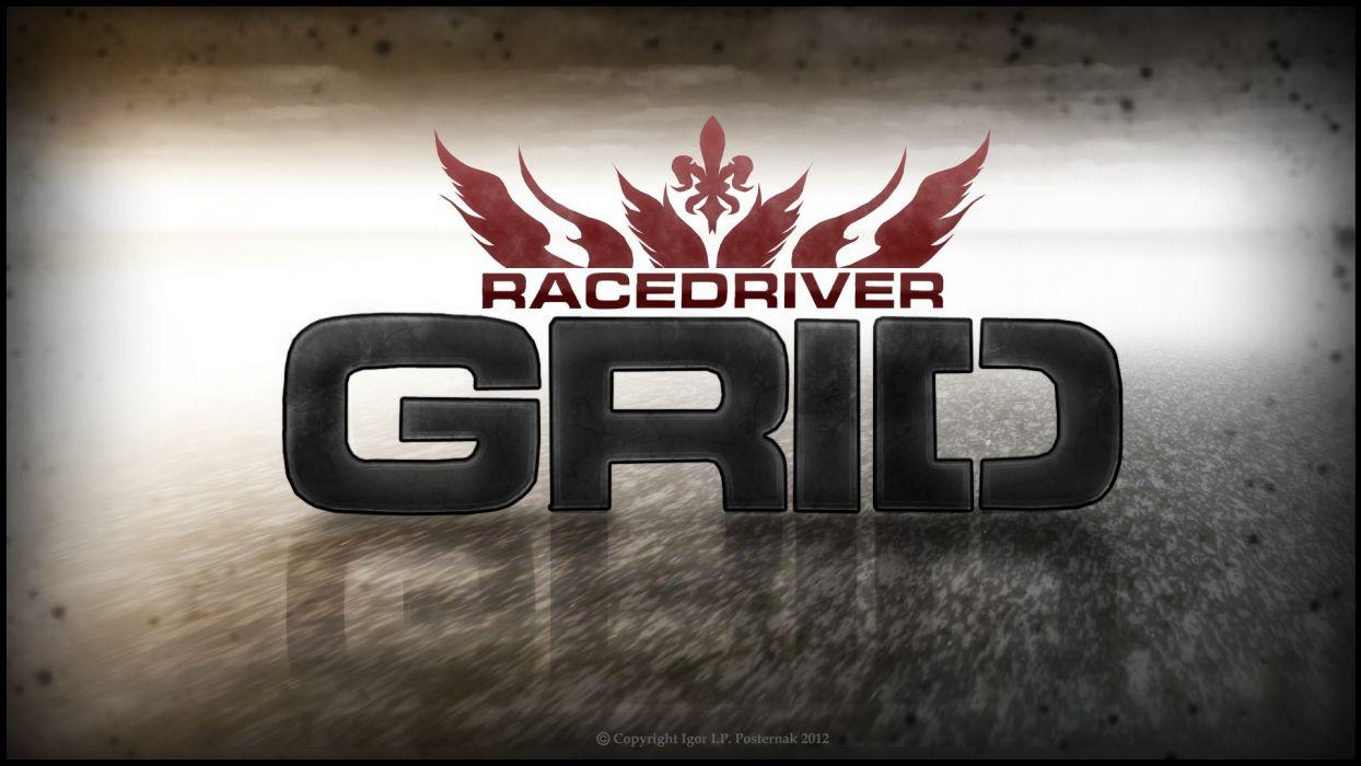 grid Race Driver GRID races fan art game wallpaper