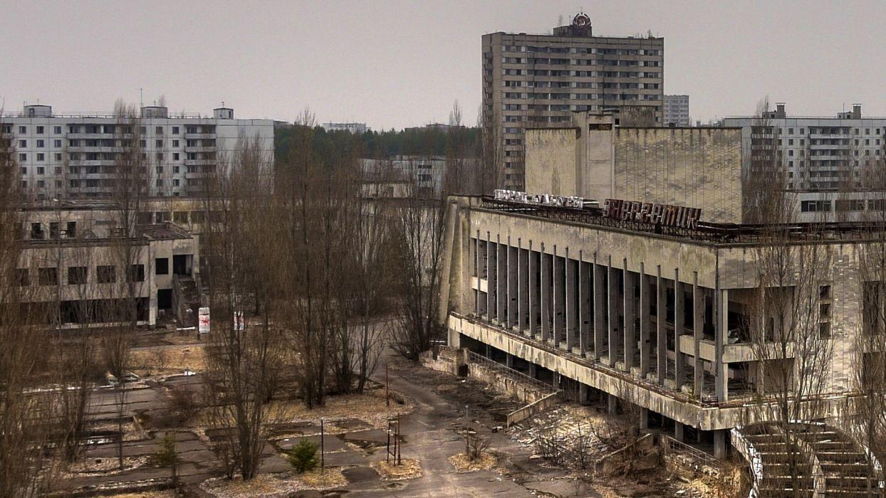 cityscapes Pripyat Chernobyl abandoned wallpaper