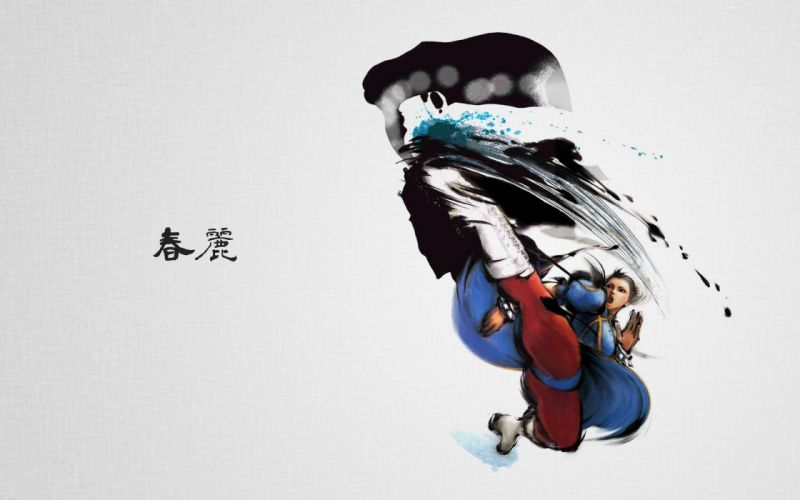 boots Street Fighter Capcom Chun-Li simple background Chinese clothes wallpaper