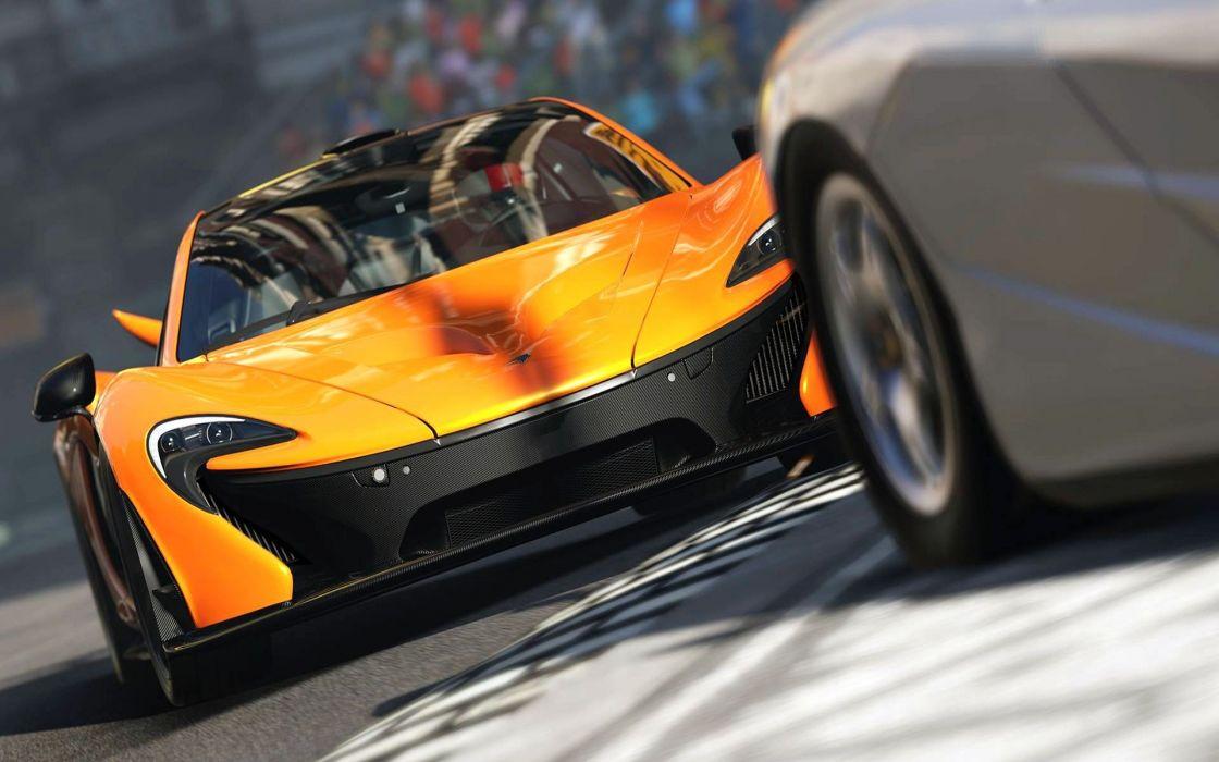 video games cars speed Mclaren P1 Xbox One Forza Motorsport 5 wallpaper