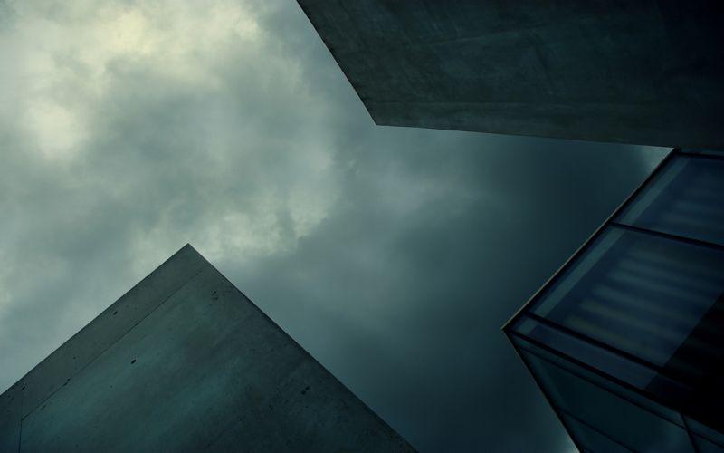minimalistic cityscapes architecture wallpaper