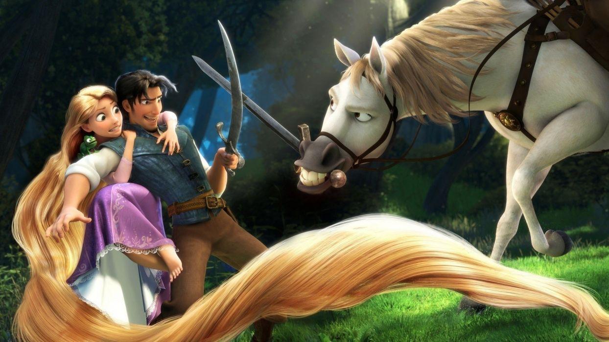 movies Tangled Rapunzel wallpaper
