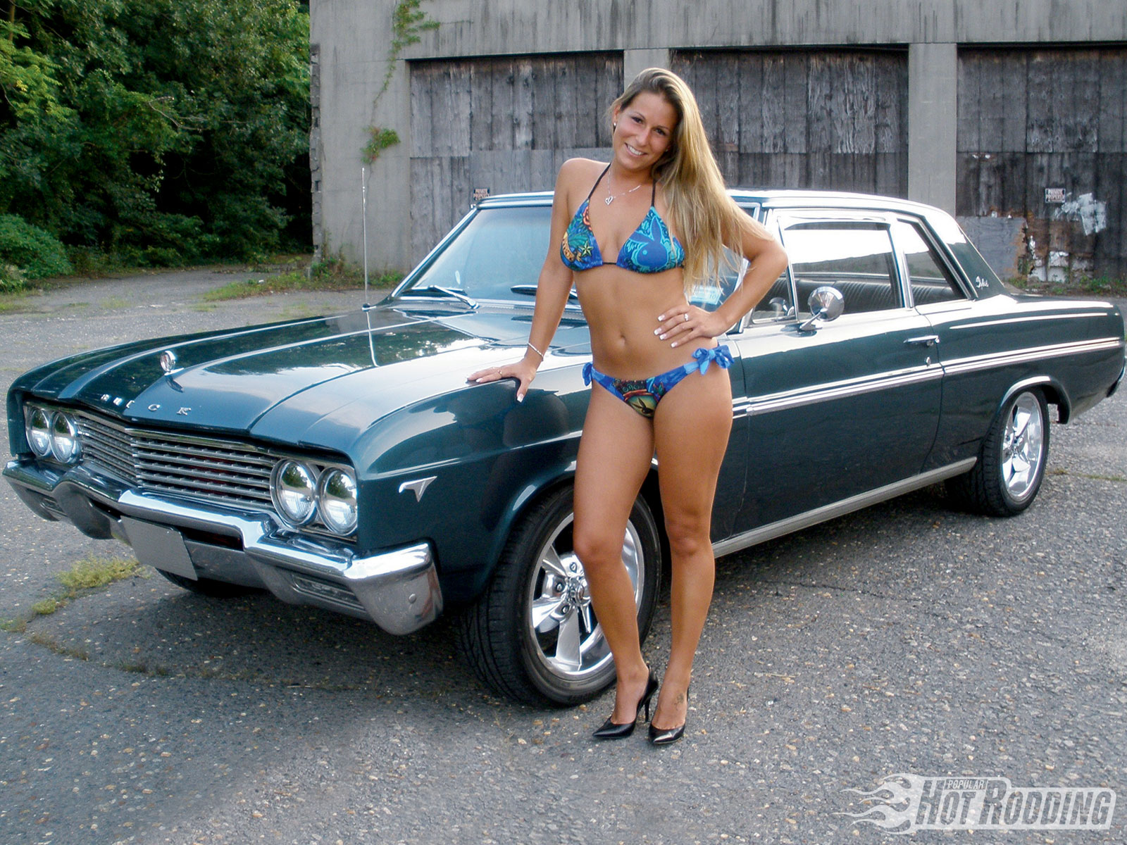 Buick Skylark Muscle Classic Hot Rod Rods Vd Wallpaper