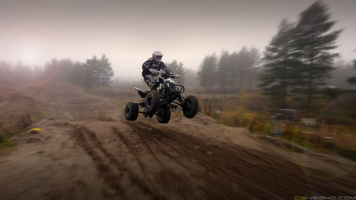 Can-Am DS 450 atv quad offroad motorbike bike dirtbike    fw wallpaper